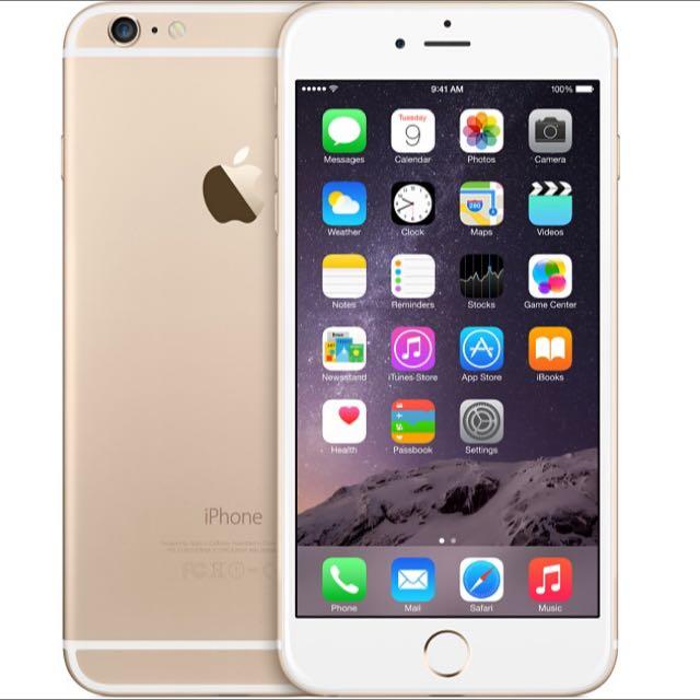 Iphone 6+ Gold 64Gb