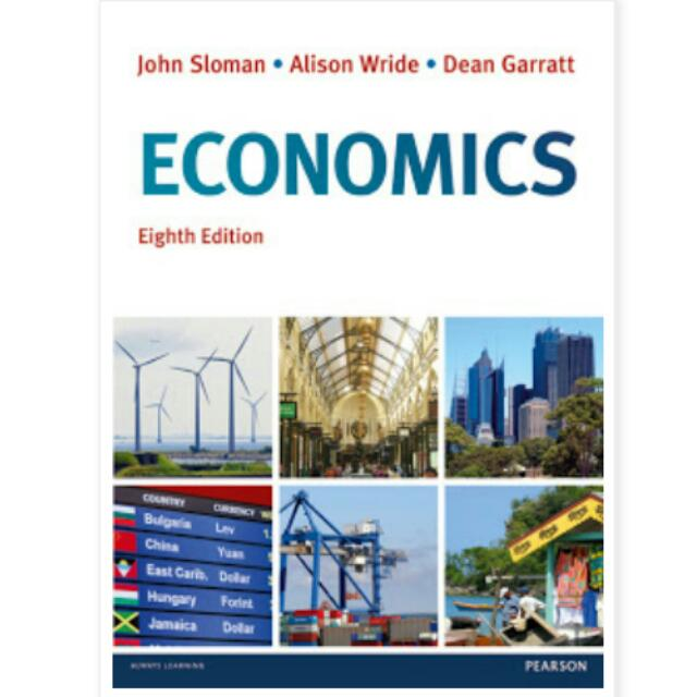 John Sloman Economics Eighth Edition