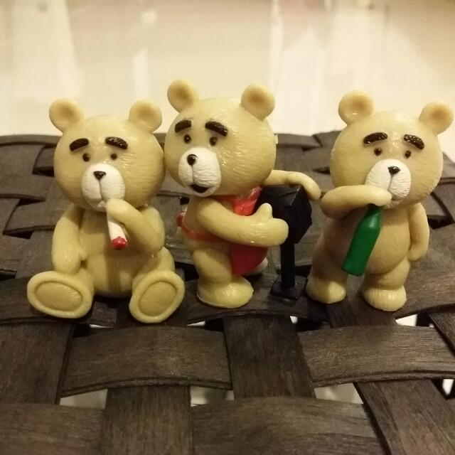 TED Figurines :::Price REDUCED!:::