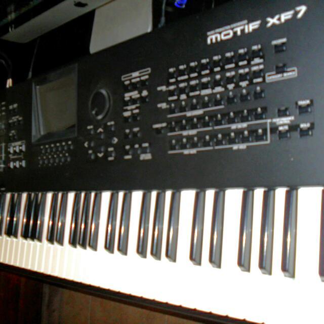 Used Yamaha Motif XF7, Music & Media on Carousell