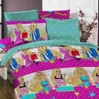 Sprei Anak Barbie Size 120 Single Ready Stock Sale