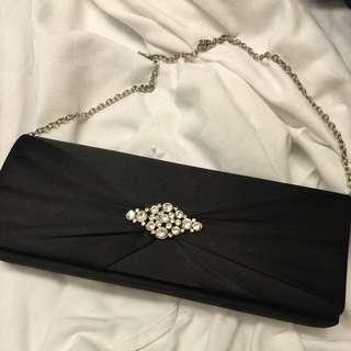 Studio Black Diamonds Evening Clutch
