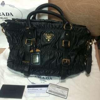 Authentic Prada Leather