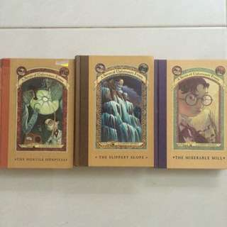 A Series Of Unfortunate Events #4, 8, 10