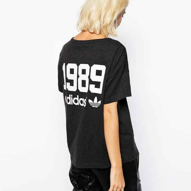 Adidas Originals 1989 T-Shirt - Black / UK 8