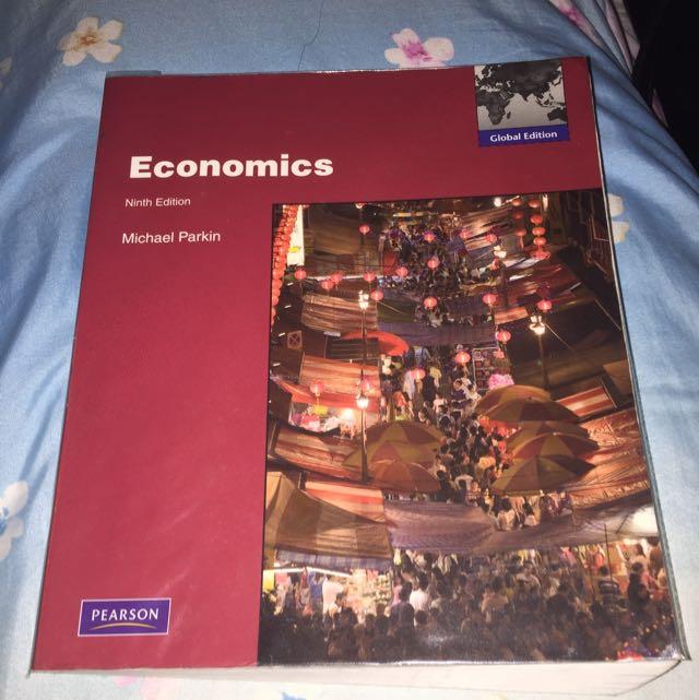 Economic Textbook Ninth Edition By Michael Parkin