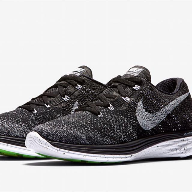 sports shoes d1494 bb228 Nike Flyknit Lunar 3 Oreo, Bulletin Board, Preorders on Carousell