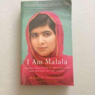 I Am Malala, by Malala Yousafzai & Christina Lamb