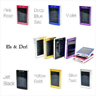 Metal Solar Power Bank