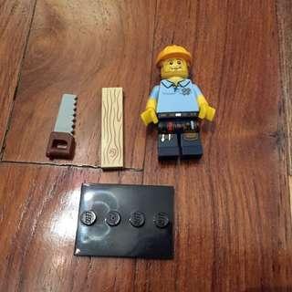 Lego Series 13 Carpenter