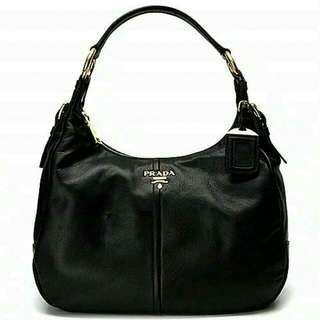 BN Authentic Black Prada Handbag