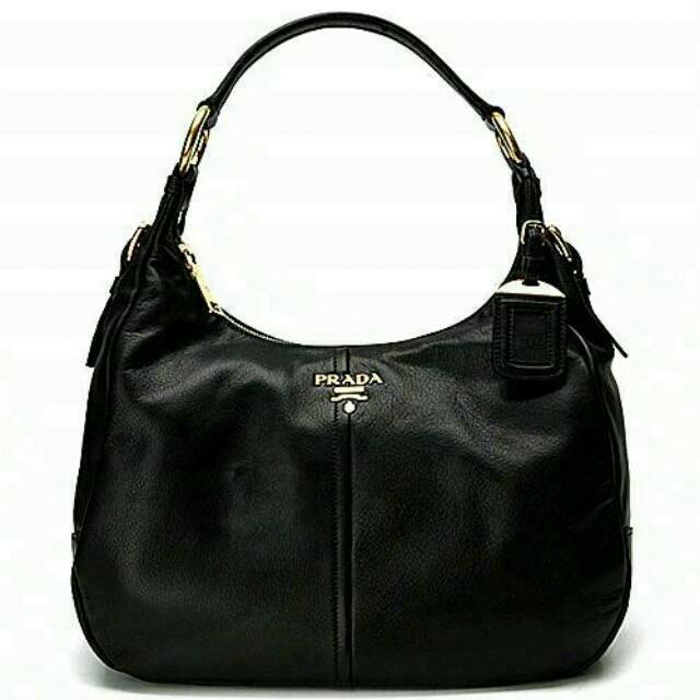 BN Authentic Black Prada Handbag