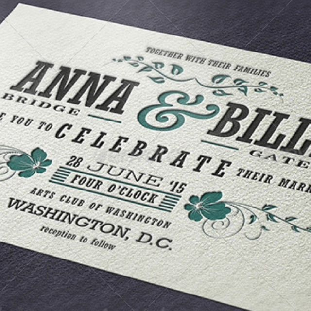 Customized This Wedding Invitation For You