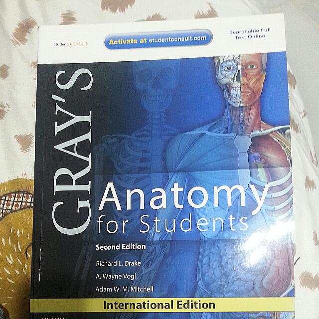 Grays Anatomy For Student Nyp Nursing Books Stationery
