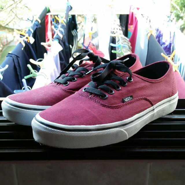 Vans Shoes (Used Once)