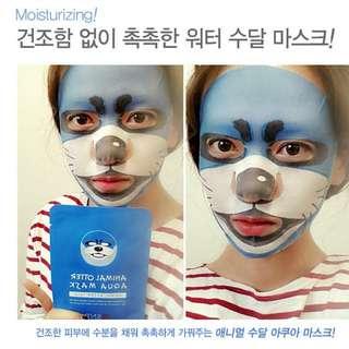 現貨🐦海豹🇰🇷韓國 SNP 可愛動物面膜(25ml)