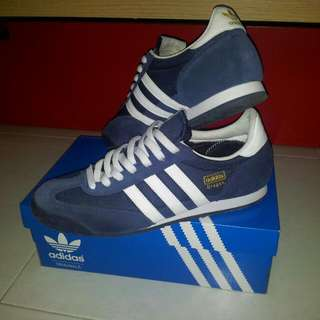 (Reserved!) Adidas Dragon Navy Blue Shoes