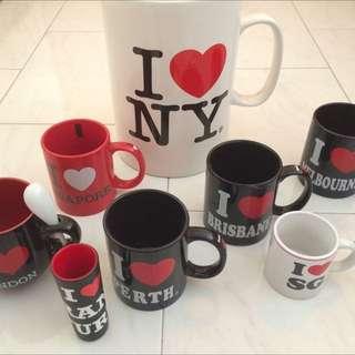I ❤️ Mugs