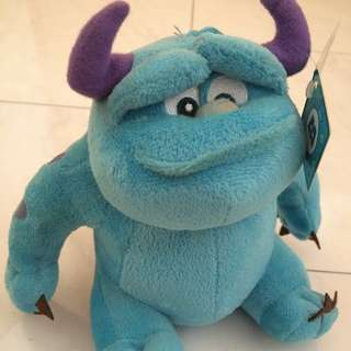 BNWT Monster Inc Soft toy
