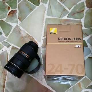Nikon AF-S 24-70 f/2.8G ED