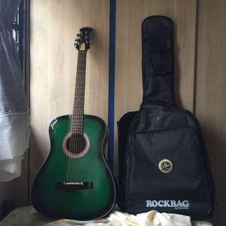 Gibtone Acoustic Guitar C/W Bag