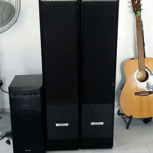 SONY Amplifier Speakers