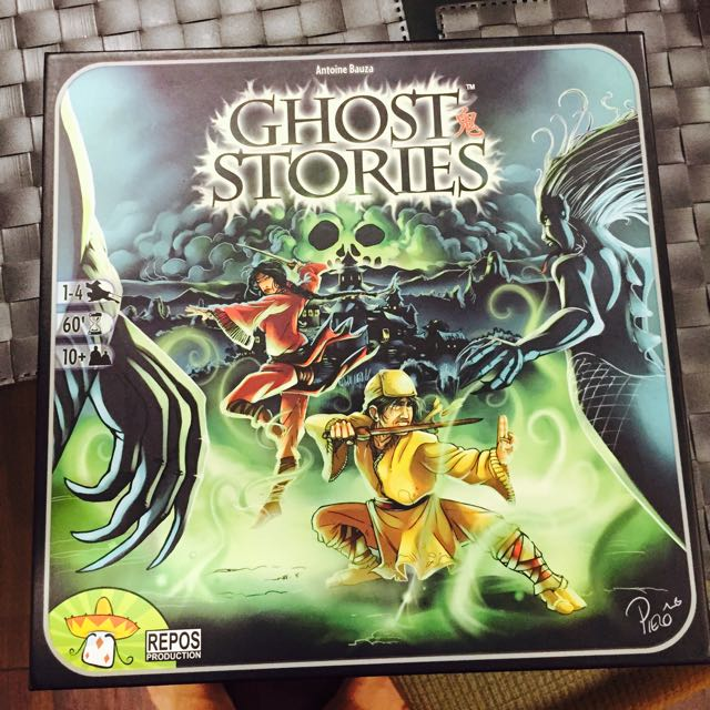 Ghost Stories: The Board Game, Toys & Games on Carousell