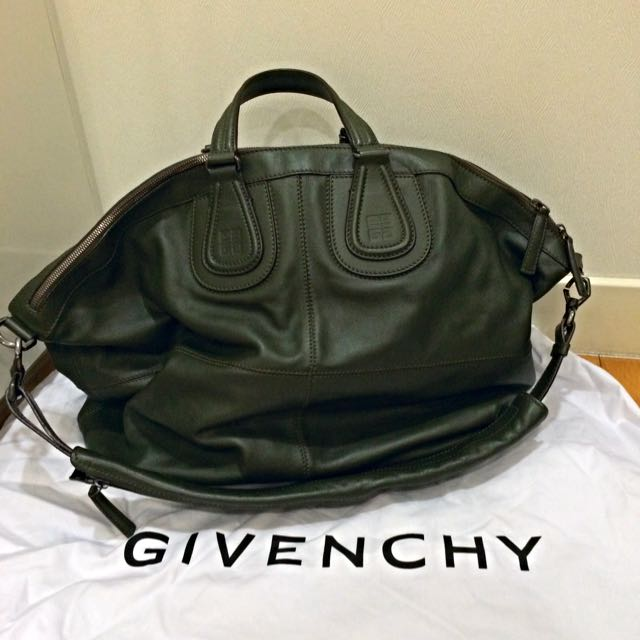 Givenchy Nightingale Army Green Large b35bf608bfb6a