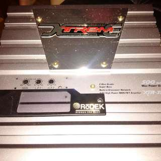 Rodek 2 channel amp