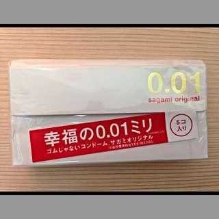 日本🇯🇵sagami相模0.01特薄保險套(0.01)