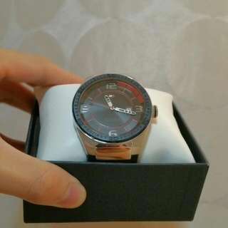 Tommy Hilfiger Watch (Red & Black)