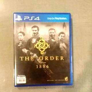 (Reserve) Sony PlayStation 4 Games (PS4): Order 1886