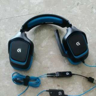 Logitech G430 Surround Sound Gaming Headset(reserved)