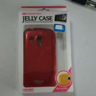 S3 mini phone cover (red)