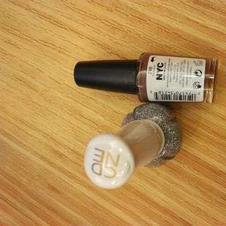 爆破指甲油和NYC指甲油