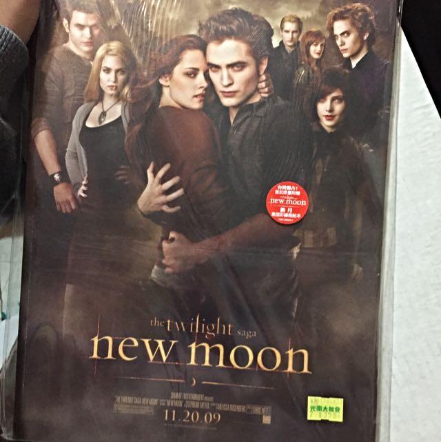 (全新)暮光之城 新月 Twilight New Moon 素描彩繪剪貼本