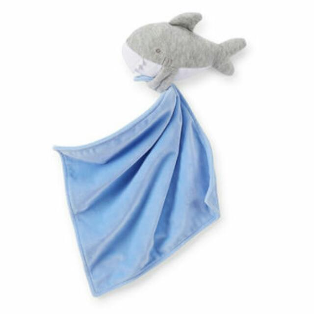 Carter's Baby Boy Security Blanket (Shark)