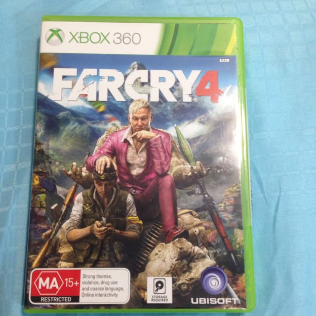 Far Cry 4 Xbox 360 Game Toys Games On Carousell