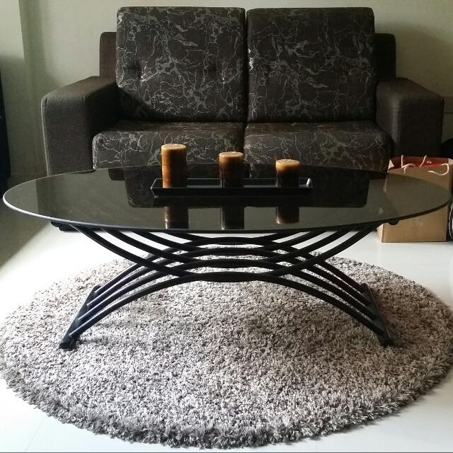 Glass Coffee Table/Center Table