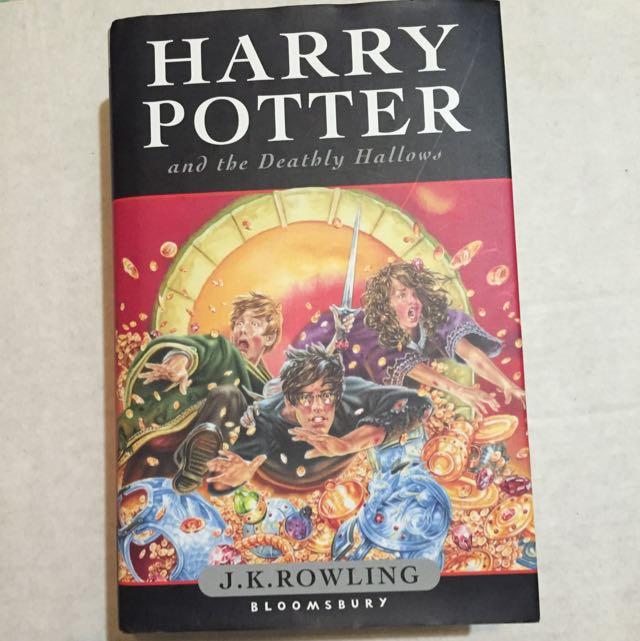 (全新)Harry Potter And The Deathly 哈利波特兒童原文小說