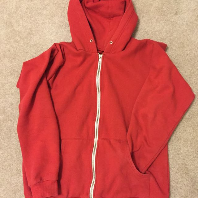 Jacket (hoodie With Zipper)