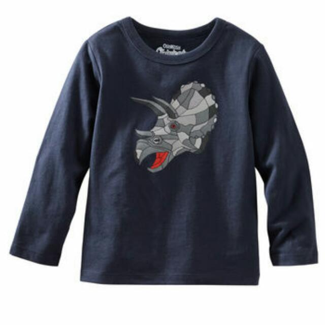 OshKosh Baby Boy Originals Graphic Tee (Dino) -12M