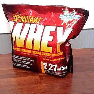 Authentic MUTANT WHEY Protein
