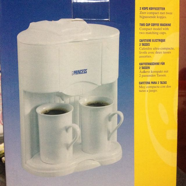 Princess Royal Two Cups Coffee Maker Home Appliances On Carousell