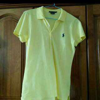 [ Repost ] Preloved Authentic Polo Ralph Tee Shirt
