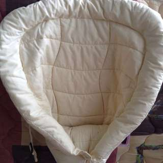BNWB Original Ergo Baby Insert. Didn't Use At All Because Infant Didn't Like To Be Place In The Carrier. Price Negotiable.