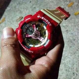 G Shock Iron Man Edition (Inspired)