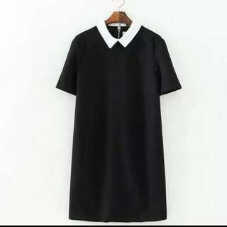 Peterpan Collared Shift Dress