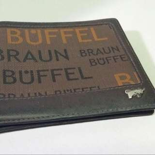 Braun Buffel Leather Wallet