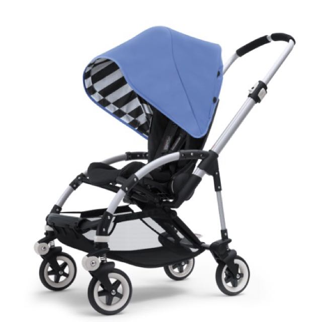 Bugaboo Bee Plus 2013 with Limited Edition Jewel Blue Canopy